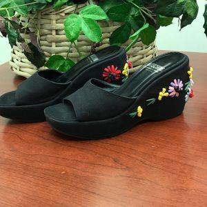 Moschino Wedge Sandals